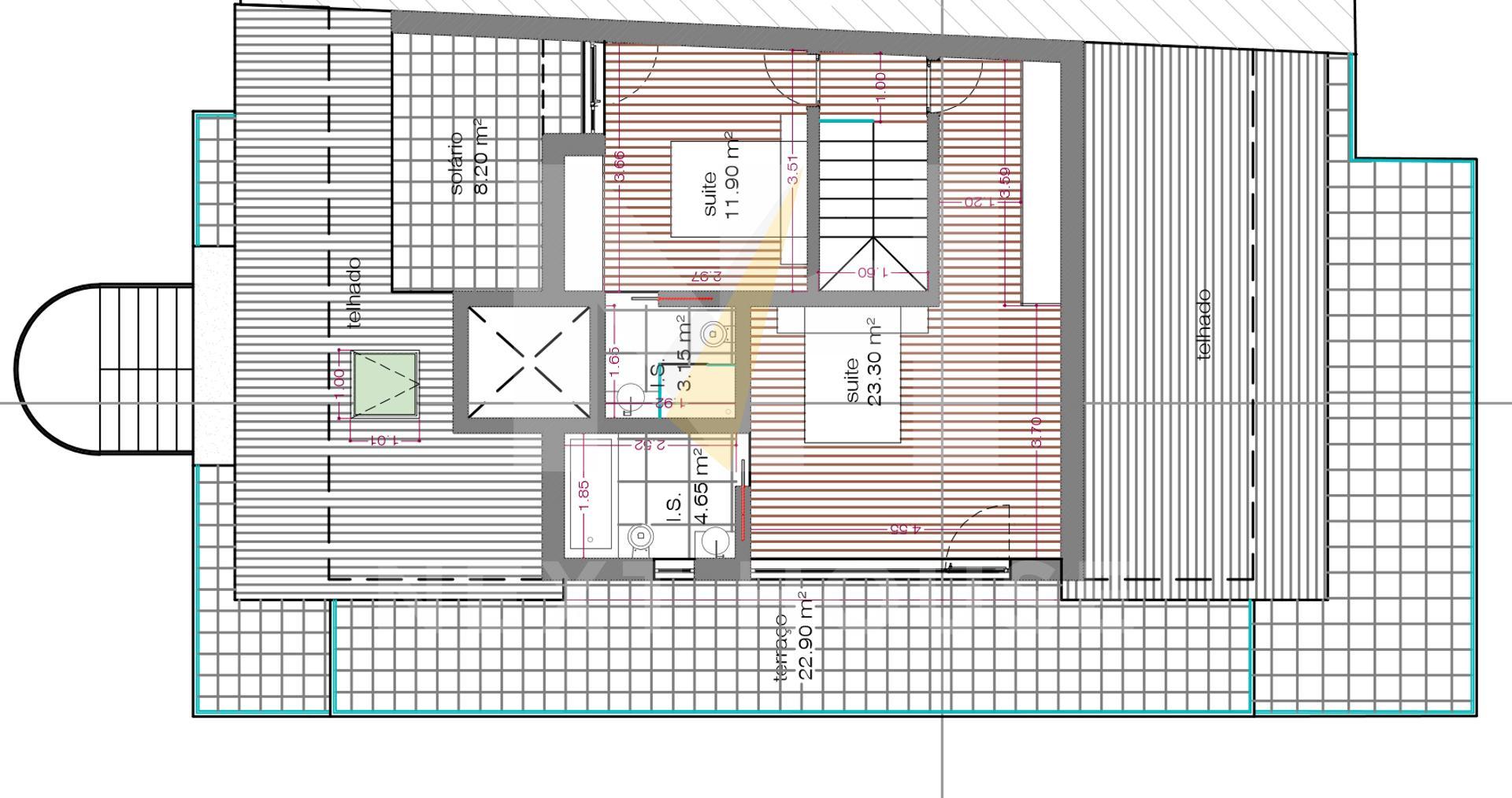 T2+1 Duplex com terraço NOVO  - Ílhavo, Ílhavo (são Salvador)